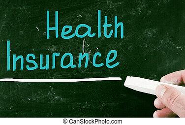 concetto, assicurazione sanitaria