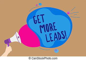 concetto, bubble., testo, seguaci, scrittura, altoparlante, strategia, discorso, presa a terra, nuovo, megafono, più, clienti, colorito, ottenere, marketing, significato, leads., grida, uomo, sguardo, clienti, scrittura, discorso