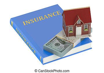 concetto, casa, assicurazione