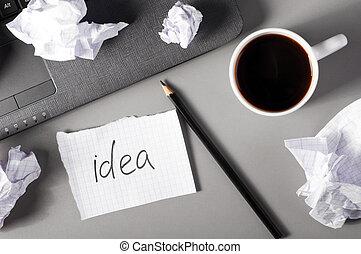 concetto, creatività, affari