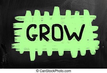 concetto, crescere