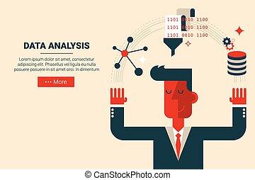 concetto, dati, analisi, ricerca