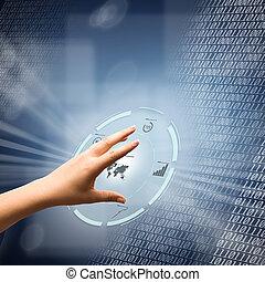 concetto, digitale