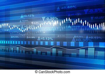 concetto, finanza, economia, graph., grafico, mercato mondiale, casato