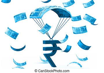 concetto finanziario, crescita