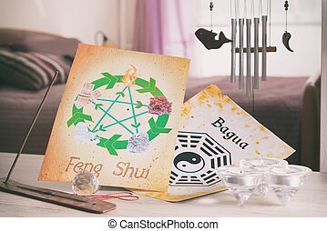 concetto, immagine, feng shui