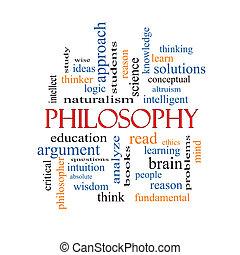 concetto, parola, nuvola, filosofia
