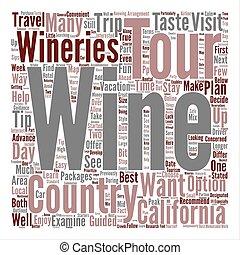 concetto, parola, paese, viaggiare, fondo, testo, punte, nuvola, vino