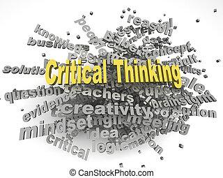 concetto, parola, pensare, immagine, critico, edizioni, fondo, nuvola, 3d
