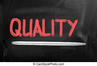 concetto, qualità