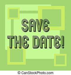 concetto, ricordare, qualsiasi cosa, orario, testo, else, significato, tempo, non, scrittura, risparmiare, appointment., date.