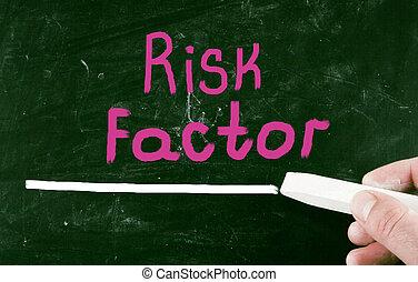 concetto, rischio, factor