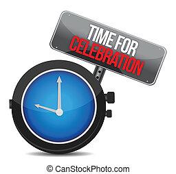 concetto, tempo, celebrazione