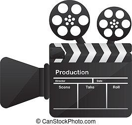 concettuale, film macchina fotografica, cinema