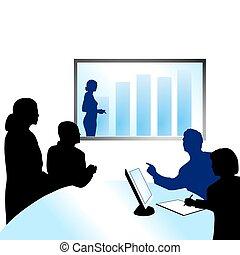conferenza, video