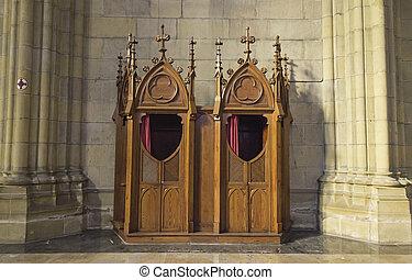 confessionale, chiesa