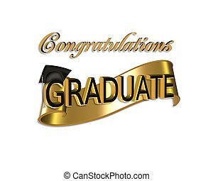 congratulazioni, graduazione