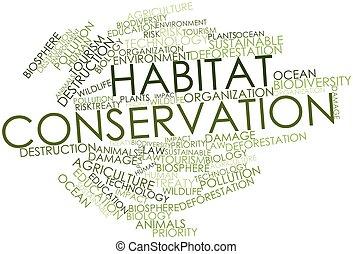conservazione, habitat