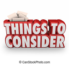 considerare, cose, consiglio, 3d, importante, parole, prima, cominciando, rosso, ricordare