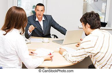 consigliere, clienti, suo, finanziario