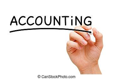 contabilità, concetto