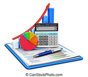 contabilità, concetto, finanza
