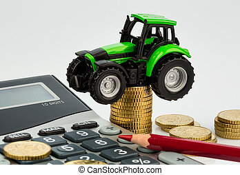 contabilità, costo, agricoltura