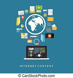 content., internet, digitale, services.