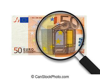 conto, euro, 50