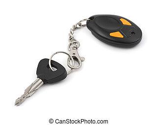 controllo, automobile, remoto, chiave