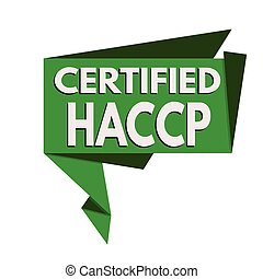 controllo, haccp, analisi, points), critico, discorso, (hazard, origami, bolla
