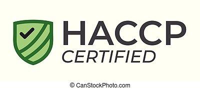 controllo, haccp, checkmark, -, analisi, critico, premio, azzardo, o, punti, icona
