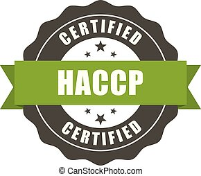 controllo, haccp, francobollo, -, azzardo, standard, sigillo, critico, analisi, qualità, certificato, punti