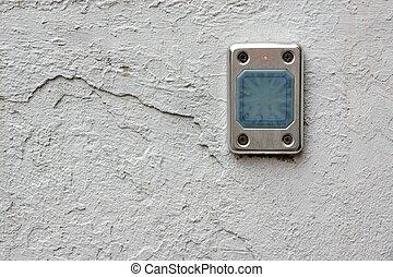 controllo, parete, accesso, lettore schede