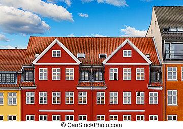 copenaghen, vecchia architettura
