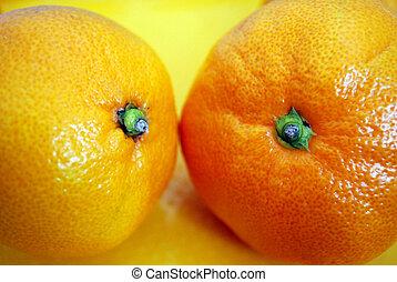 coppia, delisious, frutte