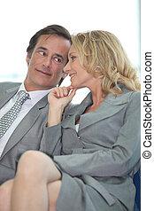 coppia dividendo, segreto, affari