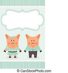 coppia, piggies