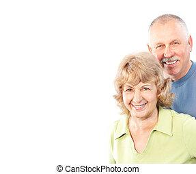 coppia, seniors