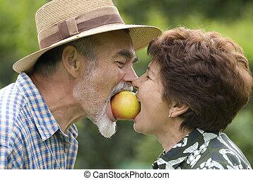 coppie maggiori, romantico
