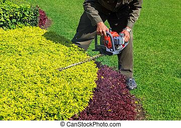 coprire guarnizione, arbusto, trimmer