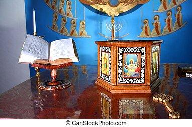 copto, altare