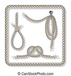 corde, set