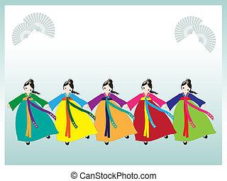 coreano, ballerini