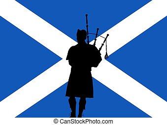cornamuse, scozzese
