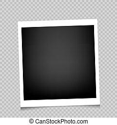 cornice foto, uggia, trasparente