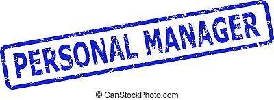 cornice, francobollo, rettangolo, arrotondato, graffiato, personale, superficie, sigillo, direttore