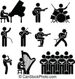 coro, musicista, pianista, concerto