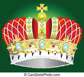 corona reale, medievale