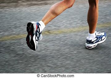 correndo, donna